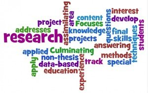 research words