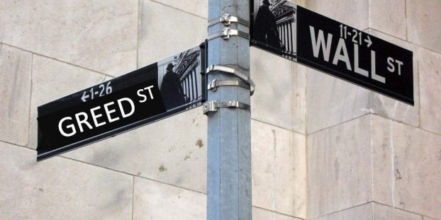 Public Opinion equates Wall Street with Greed