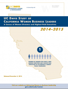 UCD Study California Women Business Leaders