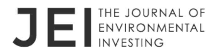 Call for Papers:  Journal of Environmental Investing
