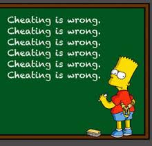 Chearing Is Wrong