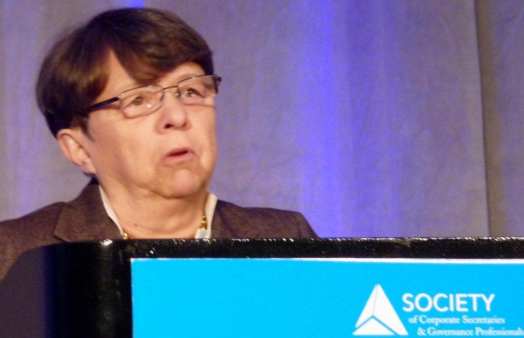 SEC Chair Mary Jo White