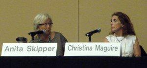 Anita Skipper & Christina Maguire