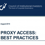 CII - Proxy Access: Best Practices