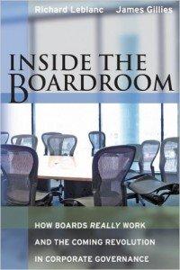 Inside the Boardroom by Richard LeBlanc