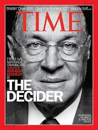 Justice Kennedy, The Decider