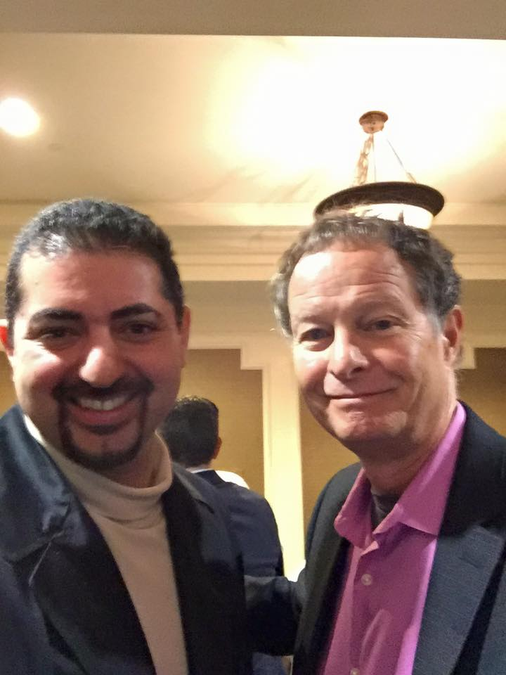 Matthew Rafat and John Mackey at Whole Foods Meeting