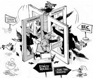 SEC Revolving Door
