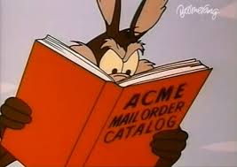 Looking through Acme catalog