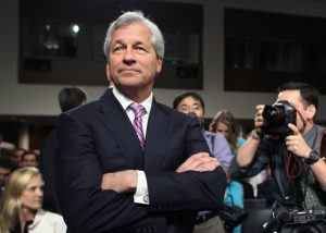 """Commonsense Principles of Corporate Governance. JPMorgan Chase CEO Jamie Dimon and a group of influential leaders in business and finance have joined to develop a set of """"commonsense"""" principles that institutional investors and governance advisers are mostly applauding. (Photo by Mark Wilson/Getty Images and used by Wahington Post)"""