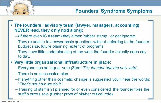 Reeds Inc: Founders Syndrome