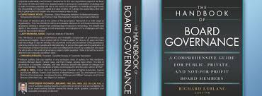 the-handbook-of-board-governance-a-comprehensive-guide-for-public-private-and-not-for-profit-board-members