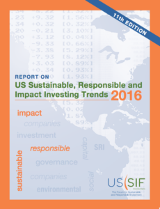 US SIF Foundation 2016 btrends report