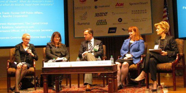 Panel: Evolving Ways of Shareholder Engagement