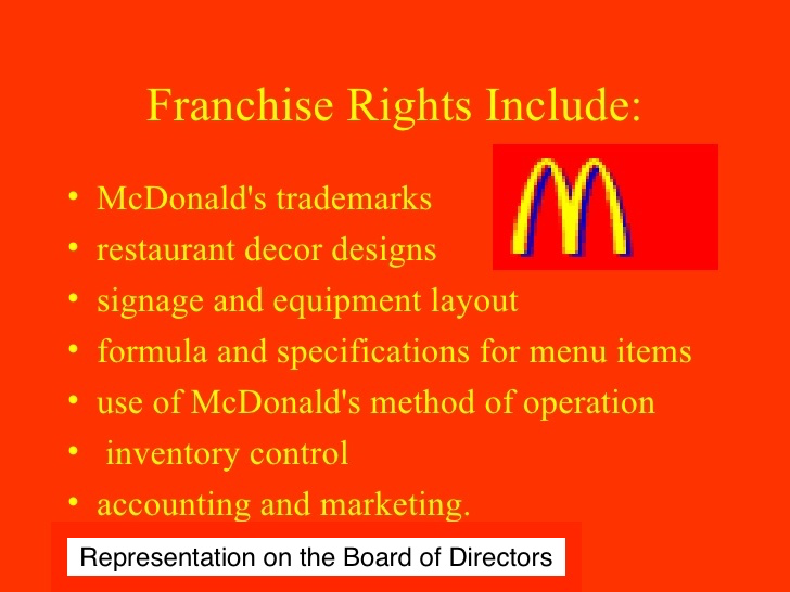 McDonalds Franchisees on the Board
