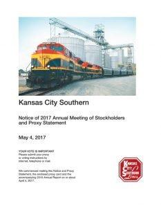 Kansas City Southern Proxy Voting Guide