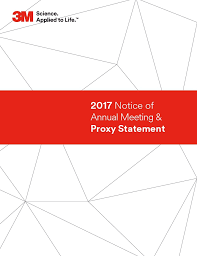 3M Proxy Voting Guide