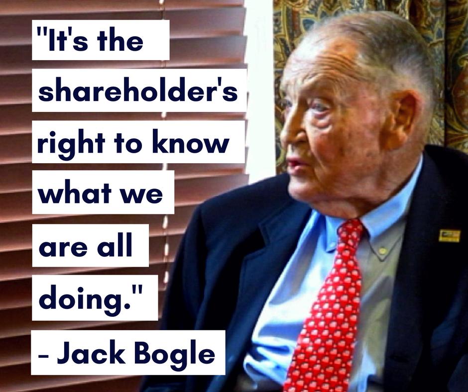 John Bogle on shareholder rights