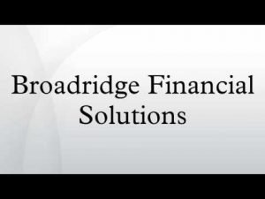 Broadridge Amends Proxy Access