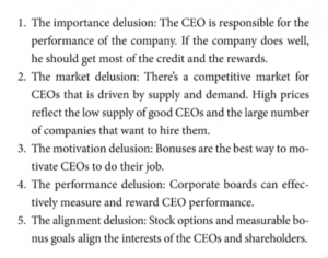 The 5 CEO Pay Delusions