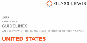 Glass Lewis 2018 Proxy Advice Update