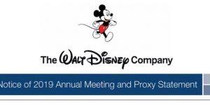 Walt Disney 2019