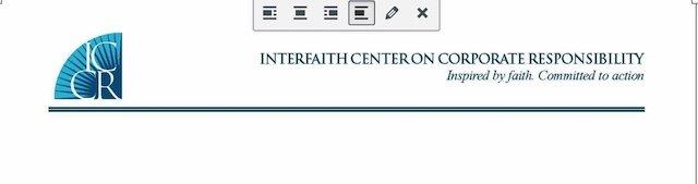 ICCR Letterhead
