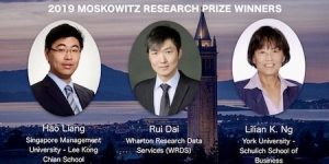 2019 Moakoqitz Research Winners