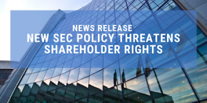 Defending Retail Shareholder Advocates