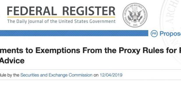 File No. S7-22-19 SEC Release