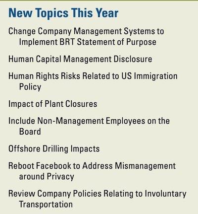 ICCR 2020 new topics