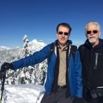 Mark Latham & Jim McRitchie on Grouse Mtn