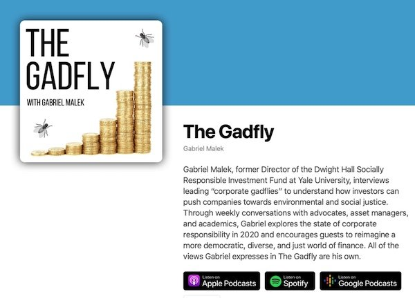 The Gadfly with Gabriel Malek