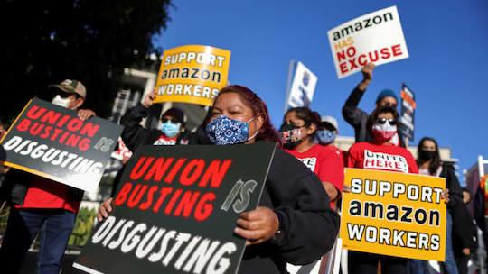 Amazon Shareholders Unite